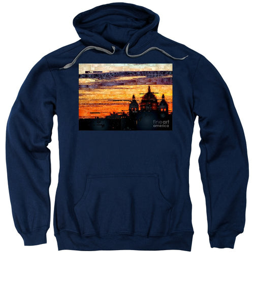 Sweatshirt - Cartagena Colombia Night Skyline