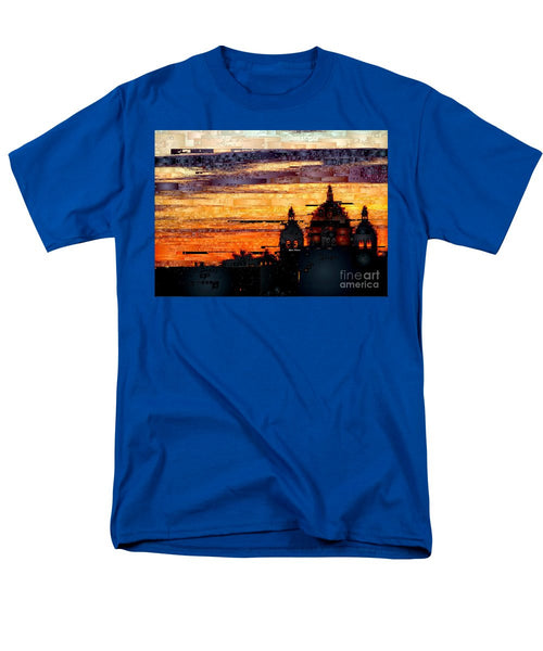 Men's T-Shirt  (Regular Fit) - Cartagena Colombia Night Skyline