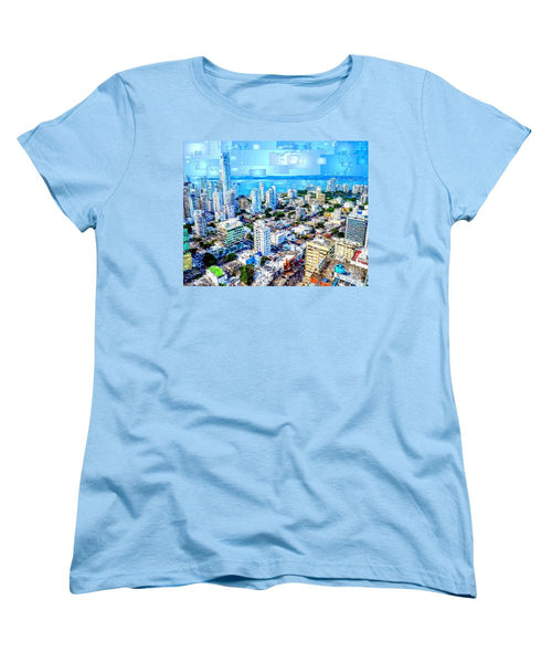 Women's T-Shirt (Standard Cut) - Cartagena, Colombia