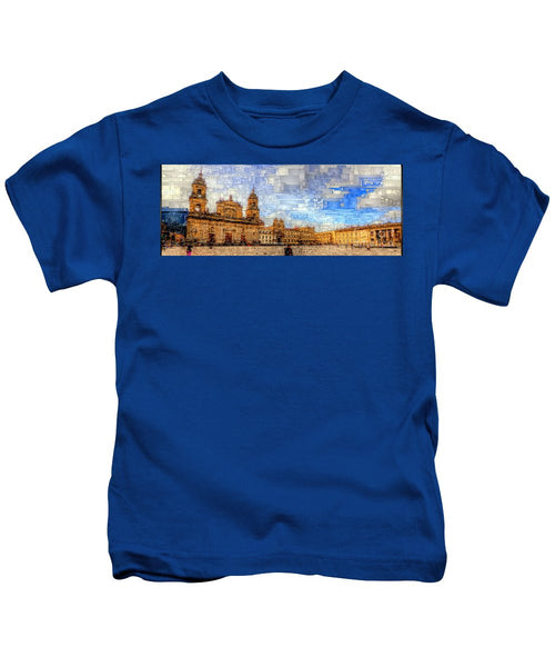 Kids T-Shirt - Cathedral, Bogota Colombia