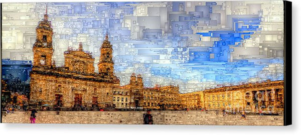 Canvas Print - Cathedral, Bogota Colombia
