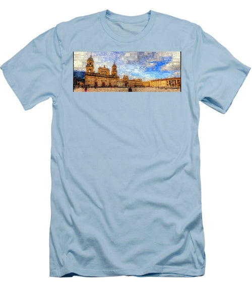 Men's T-Shirt (Slim Fit) - Cathedral, Bogota Colombia