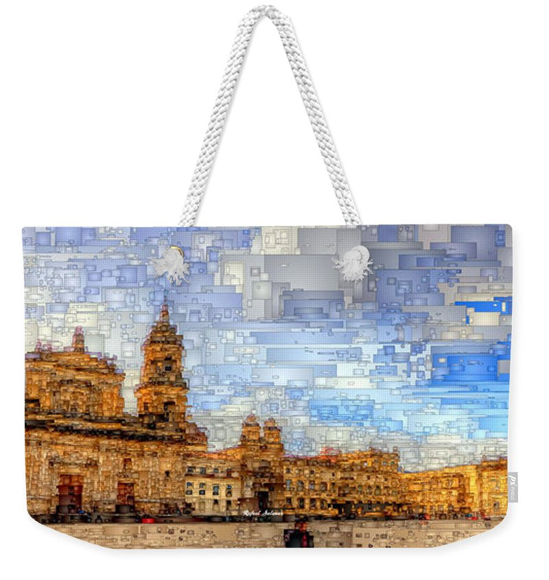Weekender Tote Bag - Cathedral, Bogota Colombia