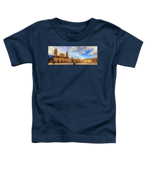 Toddler T-Shirt - Cathedral, Bogota Colombia