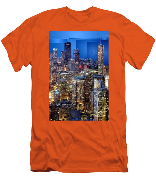 Men's T-Shirt (Slim Fit) - Chicago. Illinois