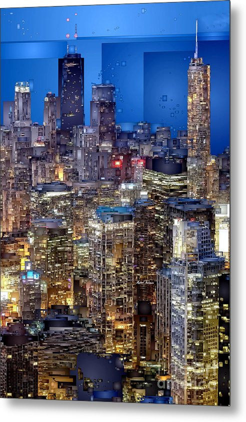 Metal Print - Chicago. Illinois