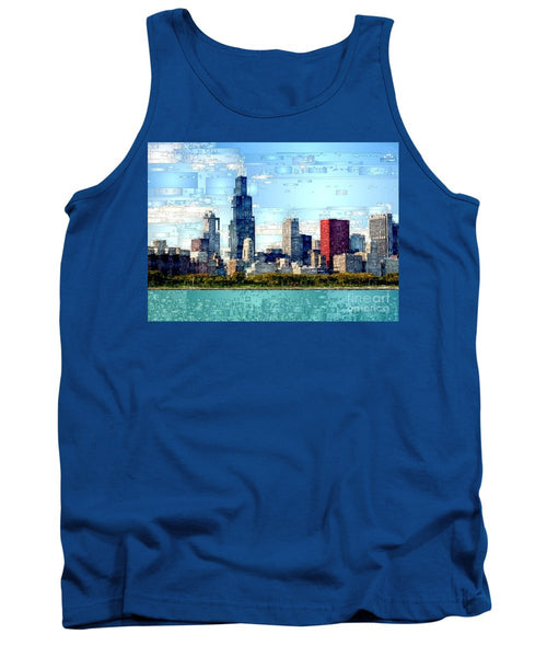 Tank Top - Chicago Skyline