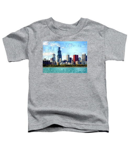 Toddler T-Shirt - Chicago Skyline