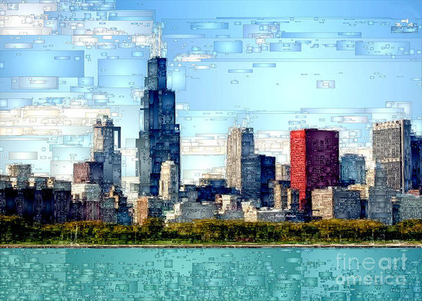 Art Print - Chicago Skyline