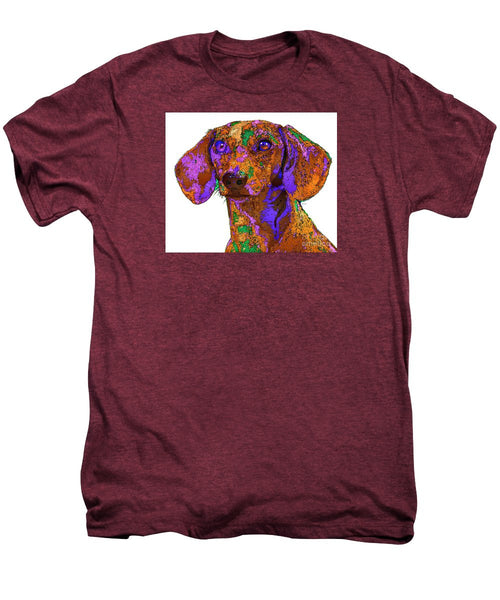 Men's Premium T-Shirt - Chloe. Pet Series