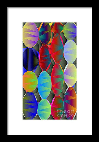 Christmas Lights - Framed Print