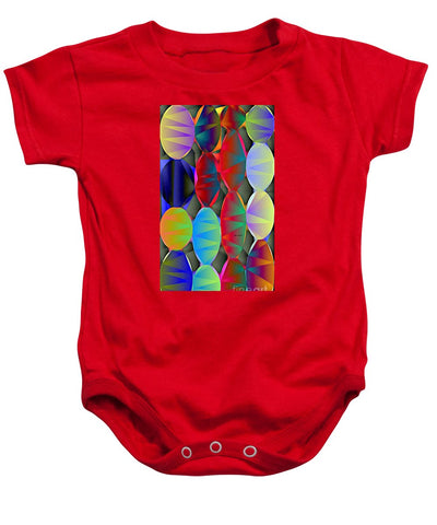 Christmas Lights - Baby Onesie