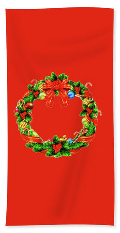 Towel - Christmas Wreath