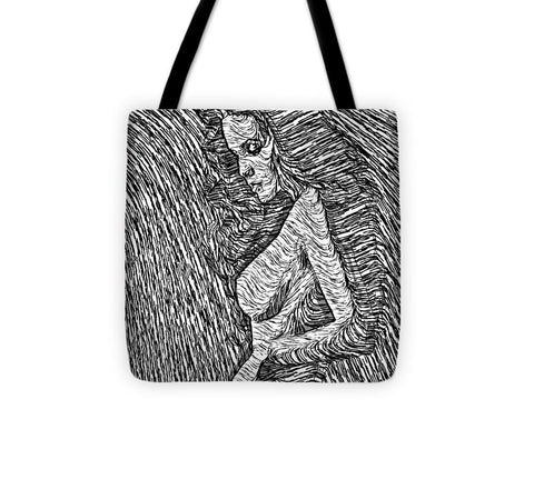 Tote Bag - Classic Beauty In Black And White