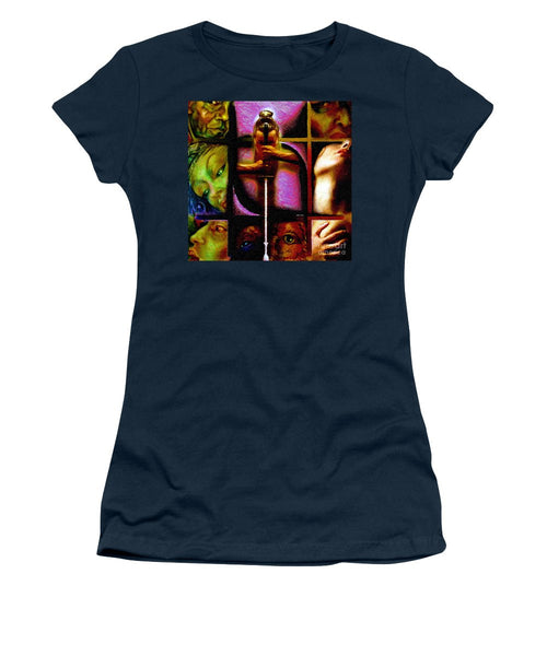 Women's T-Shirt (Junior Cut) - Conflicts By Rafael Salazar