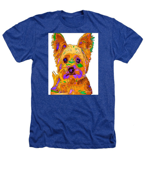 Heathers T-Shirt - Cupcake The Yorkie. Pet Series