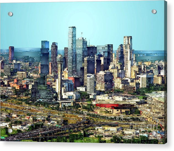 Acrylic Print - Dallas Skyline