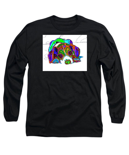 Long Sleeve T-Shirt - Do You Want To Take A Nap? Pet Series