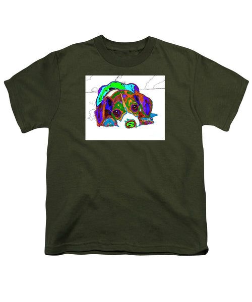 Youth T-Shirt - Do You Want To Take A Nap? Pet Series