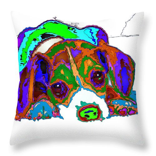 Throw Pillow - Do You Want To Take A Nap? Pet Series