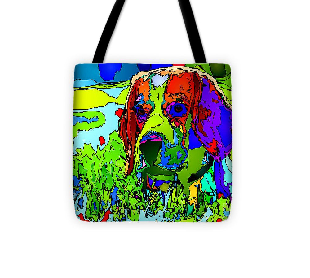 Tote Bag - Dogs Can See In Color