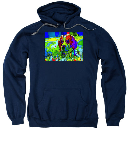 Sweatshirt - Dogs Can See In Color