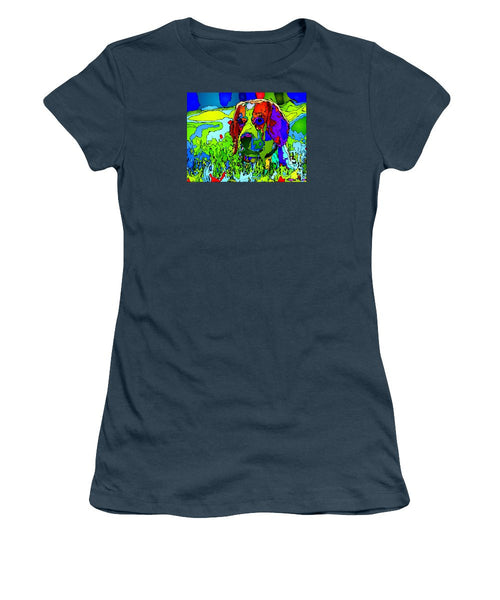 Women's T-Shirt (Junior Cut) - Dogs Can See In Color