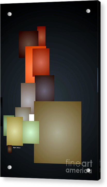 Acrylic Print - Dramatic Abstract