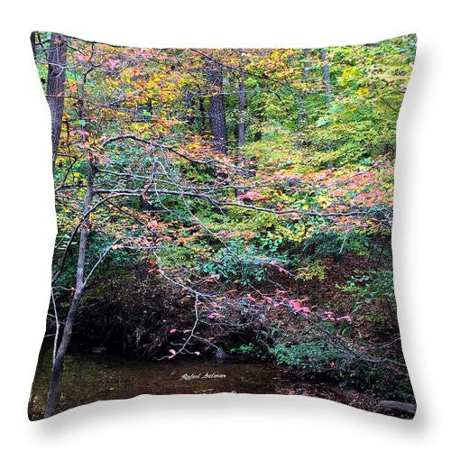 Throw Pillow - Dream Woods In Georgia