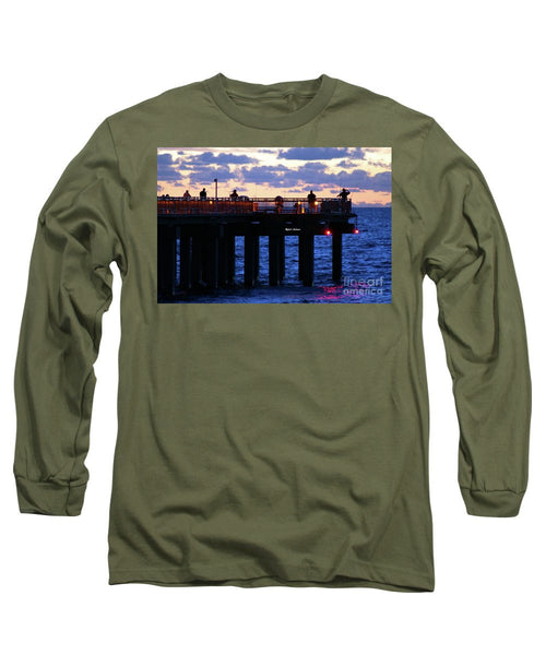 Long Sleeve T-Shirt - Early Fishing