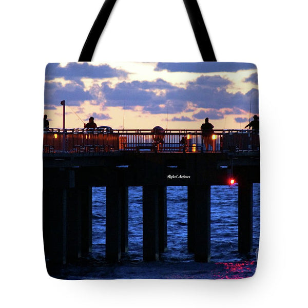 Tote Bag - Early Fishing