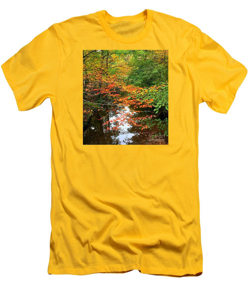 Men's T-Shirt (Slim Fit) - Fall Is In The Air