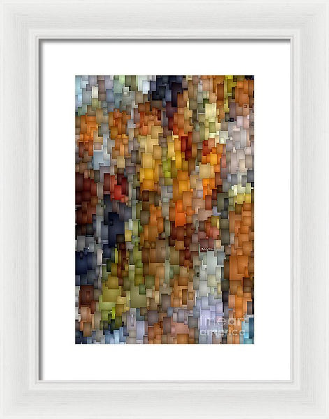 Framed Print - Fallen Leaves