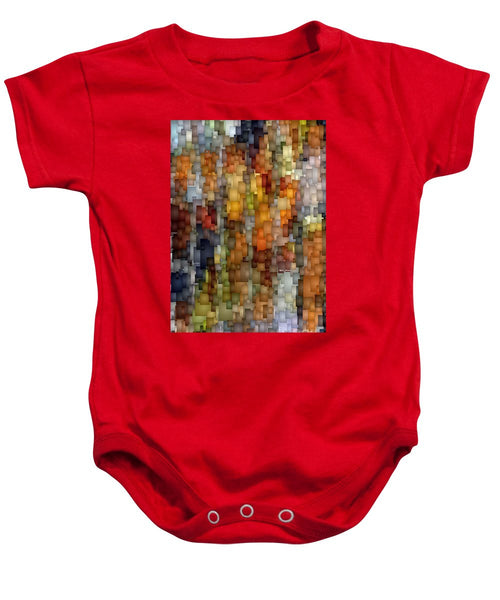 Baby Onesie - Fallen Leaves
