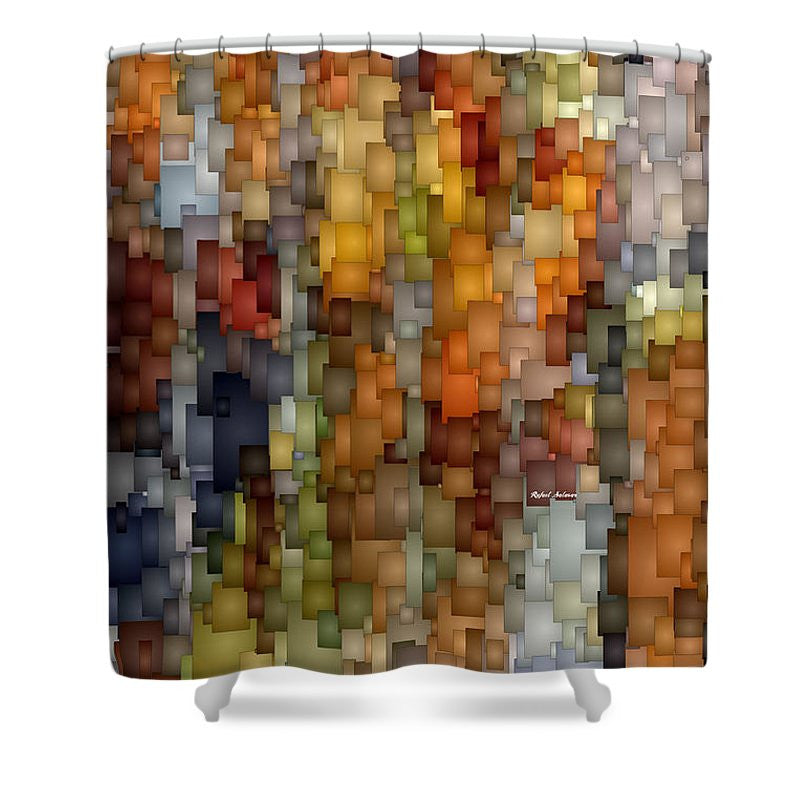 Shower Curtain - Fallen Leaves