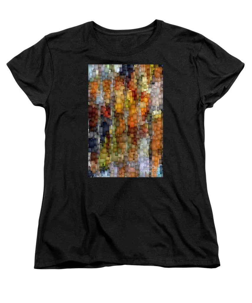 Women's T-Shirt (Standard Cut) - Fallen Leaves