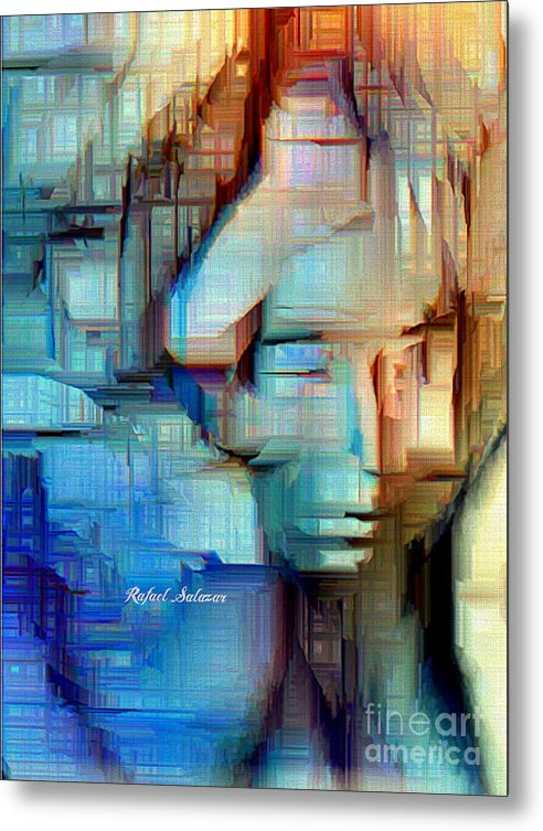 Feeling Blue - Metal Print