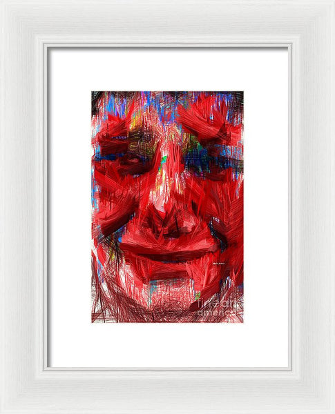 Framed Print - Feeling Hot