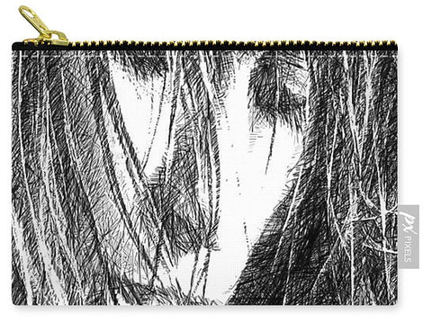 Carry-All Pouch - Female Drawing Sketch
