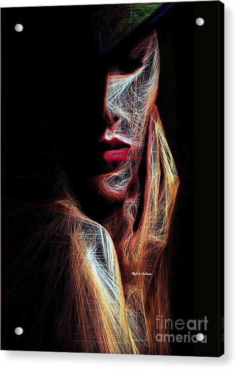 Acrylic Print - Female Expression 48