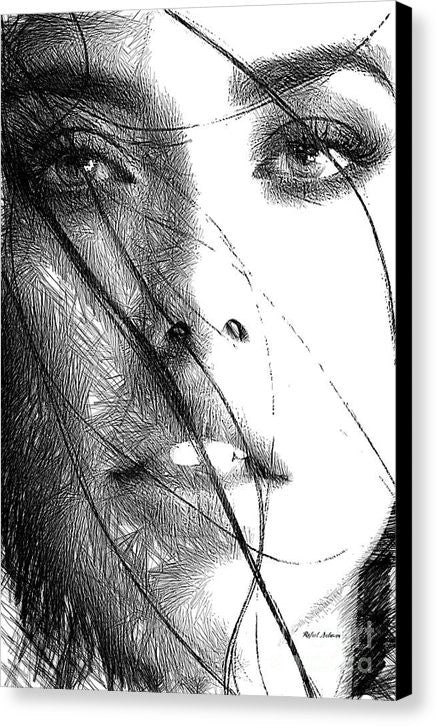 Canvas Print - Female Expressions 937