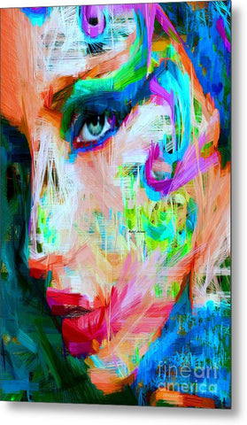 Metal Print - Female Expressions 9560