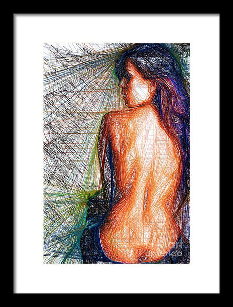 Framed Print - Female Figure