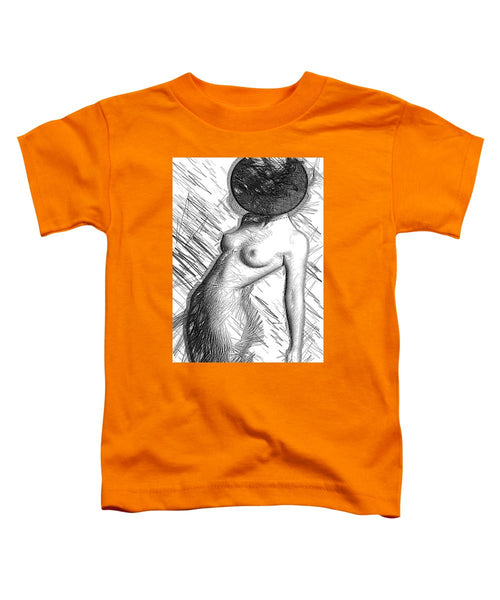 Toddler T-Shirt - Female Figure Sketch 1266