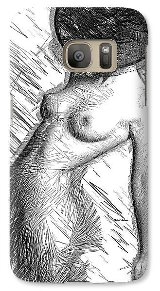 Phone Case - Female Figure Sketch 1266
