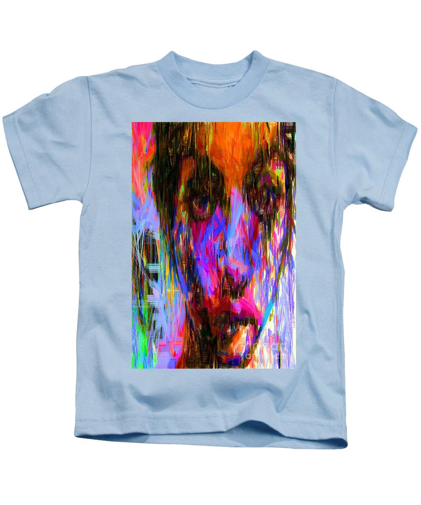 Kids T-Shirt - Female Portrait 0130