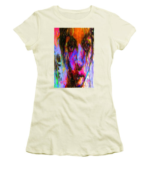 Women's T-Shirt (Junior Cut) - Female Portrait 0130