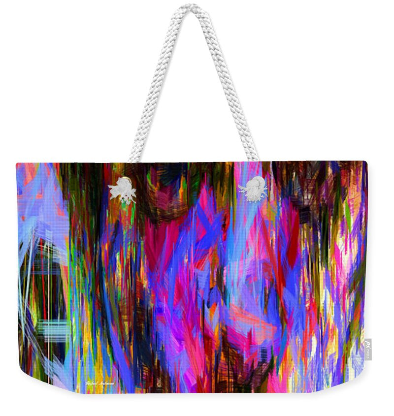 Weekender Tote Bag - Female Portrait 0130