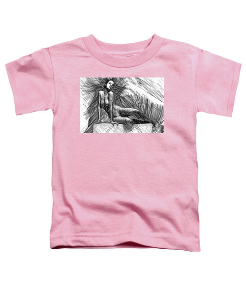 Toddler T-Shirt - Female Pose For Studio Drawing 1447