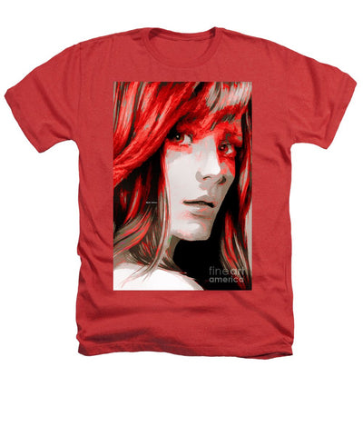 Heathers T-Shirt - Female Sketch In Red